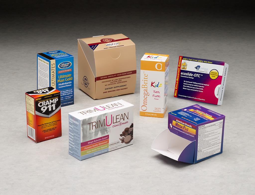 retail otc packaging box folding pharmaceutical keystone decades expertise manufacture